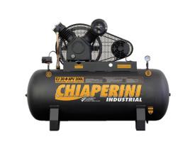 Compressor Chiaperini CJ 20+ APV 200 Litros 175 Libras 5 cv Trifásico