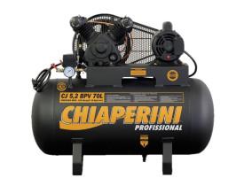Compressor Chiaperini CJ 5.2 BPV 70 Litros 120 Libras 1 cv Monofásico