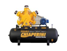 Compressor Chiaperini CJ 60 APW 425 Litros 175 Libras 15 cv Trifásico