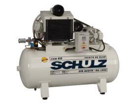 compressor-schulz-csw-60-420-litros-120-libras-isento-de-oleo