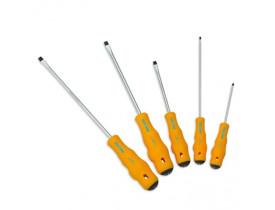 Kit-Chave-Fendas-Philips-5-Peças-Super-Torke-Chiaperini-Cabo-Injetado-Ergonomico
