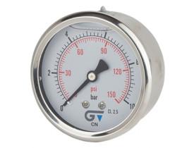 manometro-63mm-com-glicerina-genebre-6000psi-rosca-1/4-posterior-traseira-1